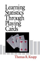 Load image into Gallery viewer, Learning Statistics Through Playing Cards