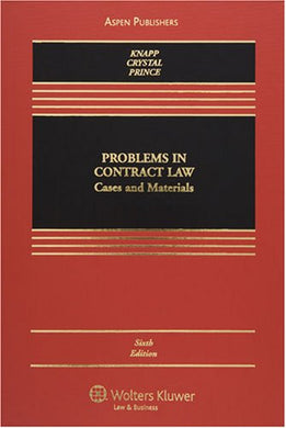 Problems In Contract Law: Cases And Materials