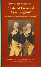 Load image into Gallery viewer, David Humphreys' Life Of General Washington: With George Washington'S Remarks