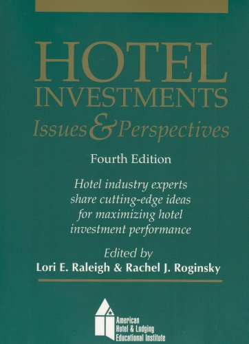 Hotel Investments: Issues & Perspectives