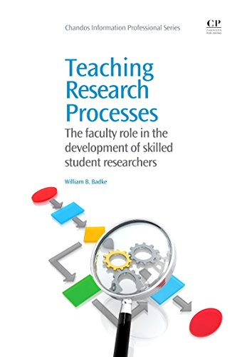Teaching Research Processes: The Faculty Role In The Development Of Skilled Student Researchers (Chandos Information Professional Series)