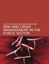 Load image into Gallery viewer, Risk And Crisis Management In The Public Sector (Routledge Masters In Public Management)