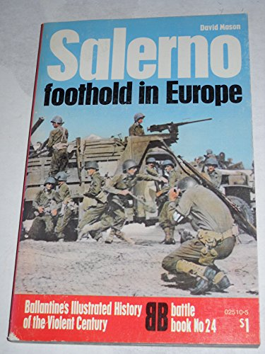 Salerno Foothold In Europe Volume 24