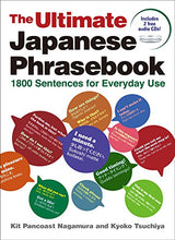 Load image into Gallery viewer, The Ultimate Japanese Phrasebook: 1800 Sentences For Everyday Use