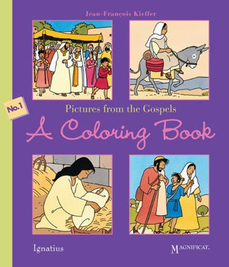 Pictures From The Gospels, A Coloring Book
