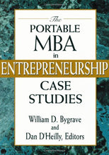 Load image into Gallery viewer, The Portable Mba In Entrepreneurship Case Studies
