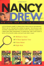 Load image into Gallery viewer, Without A Trace/A Race Against Time/False Notes/High Risk (Nancy Drew: All New Girl Detective 1-4)