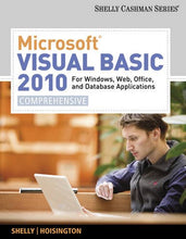 Load image into Gallery viewer, Microsoft Visual Basic 2010 For Windows, Web, Office, And Database Applications: Comprehensive (Sam 2010 Compatible Products)