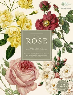 The Rose: The History Of The Worlds Favourite Flower In 40 Captivating Roses With Classic Texts And Rare Beautiful Prints