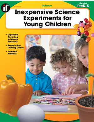 Inexpensive Science Experiments For Young Children, Grades Prek-K