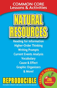 Natural Resources  Common Core Lessons And Activities