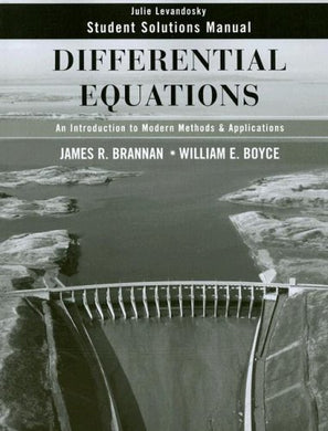 Differential Equations, Student Solutions Manual: An Introduction To Modern Methods And Applications