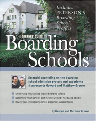 The Greenes' Guide To Boarding Schools, 1St Edition
