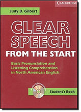 Load image into Gallery viewer, Clear Speech From The Start Student'S Book With Audio Cd: Basic Pronunciation And Listening Comprehension In North American English