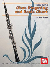 Load image into Gallery viewer, Mel Bay Oboe Fingering & Scale Chart