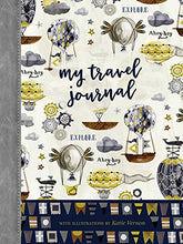 Load image into Gallery viewer, My Travel Journal (Quiet Fox Designs) Part Trip Planner, Part Travel Diary, With A Day-By-Day Log, Room For Emergency Information, Reservations, Lists, Budgets, & Checklists In A Convenient 6X8 Size