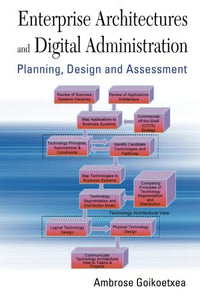 Enterprise Architectures And Digital Administration: Planning, Design, And Assessment