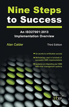 Load image into Gallery viewer, Nine Steps To Success: An Iso27001:2013 Implementation Overview