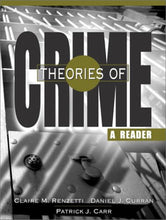 Load image into Gallery viewer, Theories Of Crime: A Reader