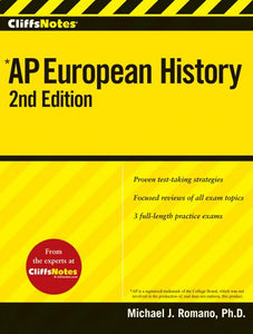 Cliffsnotes Ap European History, 2Nd Edition (Cliffsap)