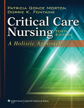 Load image into Gallery viewer, Critical Care Nursing: A Holistic Approach