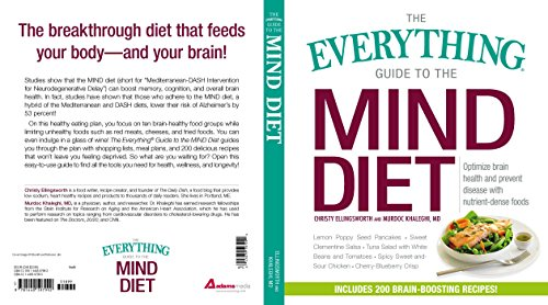 The Everything Guide To The Mind Diet: Optimize Brain Health And Prevent Disease With Nutrient-Dense Foods