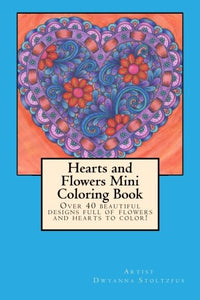 Hearts And Flowers Mini Coloring Book