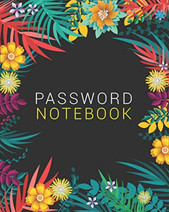Password Notebook: Password Keeper With Alphabet Tabs V1