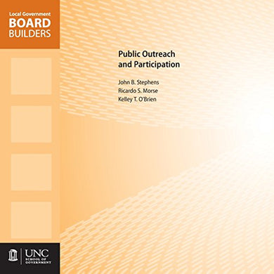 Public Outreach And Participation (Local Government Board Builders)