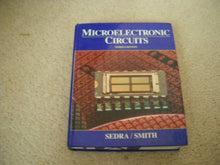 Load image into Gallery viewer, Microelectronic Circuits (The Oxford Series In Electrical And Computer Engineering)