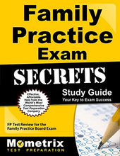 Load image into Gallery viewer, Family Practice Exam Secrets Study Guide: Fp Test Review For The Family Practice Board Exam