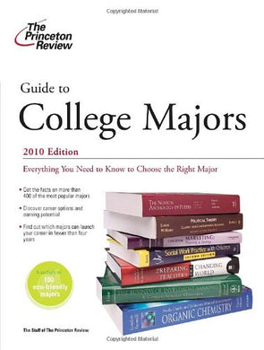 Guide To College Majors, 2010 Edition (College Admissions Guides)