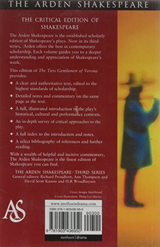 The Two Gentlemen Of Verona (Arden Shakespeare: Third Series)