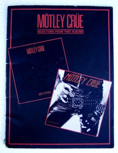 Motley Crue -- Shout At The Devil / Too Fast For Love: Selections From Two Albums