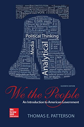 We The People: An Introduction To American Government