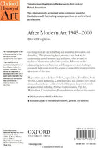 Load image into Gallery viewer, After Modern Art 1945-2000 (Oxford History Of Art)
