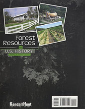 Load image into Gallery viewer, Forest Resources In U.S. History