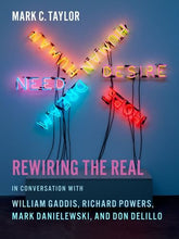 Load image into Gallery viewer, Rewiring The Real: In Conversation With William Gaddis, Richard Powers, Mark Danielewski, And Don Delillo (Religion, Culture, And Public Life)