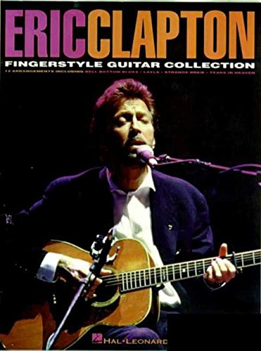 Hal Leonard Eric Clapton  Fingerstyle Guitar Collection