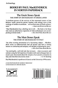 The Greek Stones Speak: The Story Of Archaeology In Greek Lands (Second Edition, Revised And Enlarged)