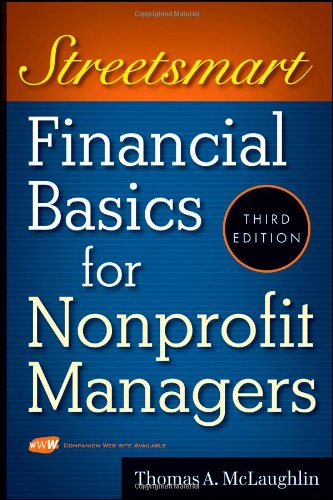 Streetsmart Financial Basics For Nonprofit Managers
