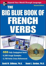 Load image into Gallery viewer, The Big Blue Book Of French Verbs With Cd-Rom, Second Edition