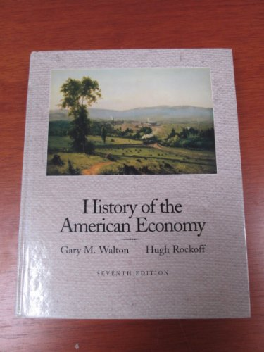 History Of The American Economy (The Dryden Press Series In Economics)