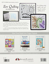 Load image into Gallery viewer, Zen Quilting Workbook: Inspired By Zentangle