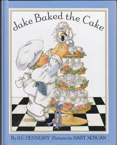 Jake Baked The Cake (Viking Kestrel Picture Books)