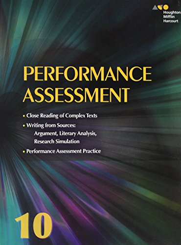 Collections: Performance Assessment Student Edition Grade 10