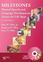 Load image into Gallery viewer, Milestones: Normal Speech And Language Development Across The Lifespan, Second Edition