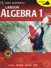 Load image into Gallery viewer, Mcdougal Littell High School Math Virginia: Student Edition Algebra 1 2012