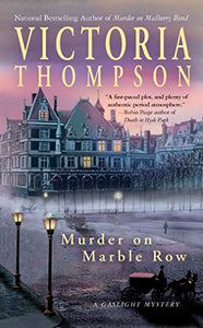 Murder On Marble Row: A Gaslight Mystery