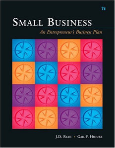Small Business: An Entrepreneurs Business Plan (Available Titles Cengagenow)